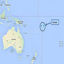Samoa Geographical Location